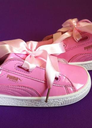 Ультрамодные кроссовки puma basket 👟  размер 27 оригинал 🔥🔥🔥 !!!