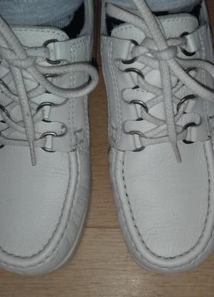 Туфли-мокасины кожаные ecco