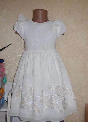 Платье mayoral 7 лет рост 122 см.