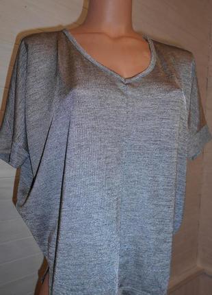 Блузка стальная и красивущая s-xl