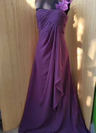 Вечернее / выпускное длинное платье бюсте e dreams