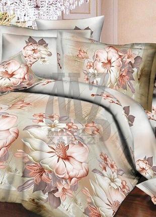 3d комплект постельного белья полуторный элегия