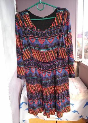 Очень крутое платье  от desigual10