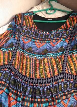 Очень крутое платье  от desigual7