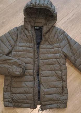 Фирменная стеганая куртка.pull&bear/оригинал.s