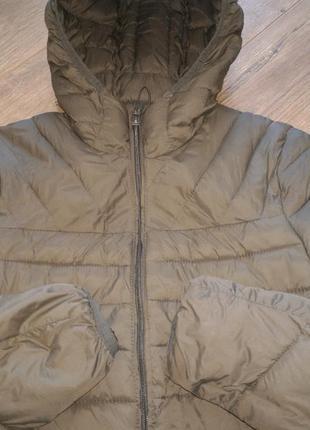 Фирменная стеганая куртка.pull&bear/оригинал.s4 фото
