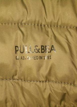 Фирменная стеганая куртка.pull&bear/оригинал.s7 фото