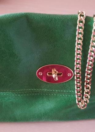 Італійська шкіряна сумочка
