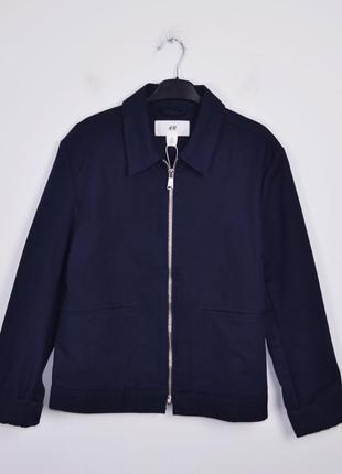 ee9915fc419 H m size s куртка темно синяя весенняя мужская курточка харик харрингтон