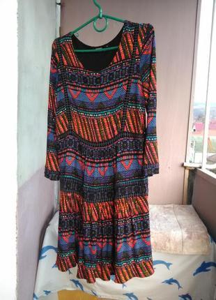 Очень крутое платье  от desigual