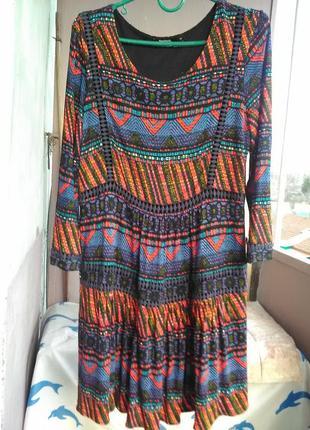 Очень крутое платье  от desigual9