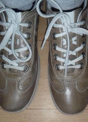 Туфли-мокасины кожаные ecco 26.5 см