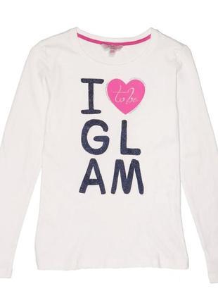 """Новый лонгслив """"glam"""" для девочки, ovs kids, 6528249"""