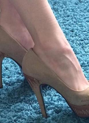 Шкіряні туфлі elmira