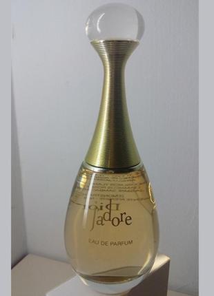 Духи парфюм оригинал кристиан диор жадор christian dior j'adore остаток из 100мл