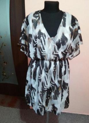 Красивое шифоновое платье раз.141 фото