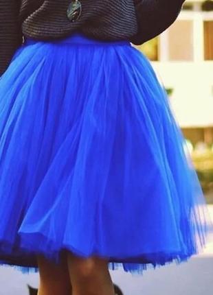 Невероятная пышная юбка пачка фатин💙💙💙