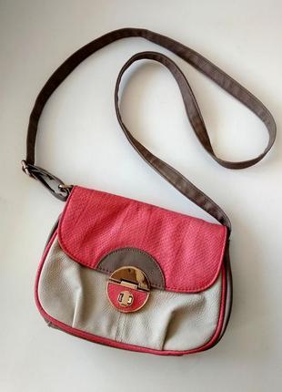 Маленькая нежная сумка-кроссбоди new look, кожзам