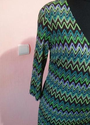 Красивое платье туника на запах раз.10/126 фото