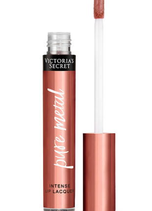 Victoria's secret лак для губ виктория сикрет pure metal intense lip lacquer. spark