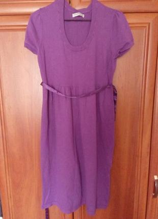 Трикотажное платье баон