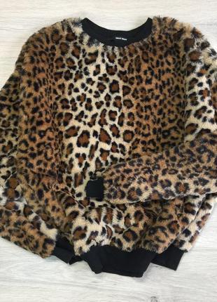 Мягкая тигровая кофта