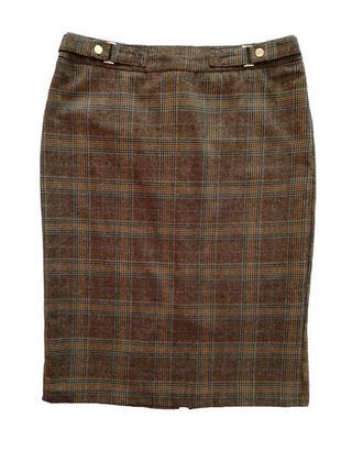Классическая прямая юбка на подкладке , бренд tu