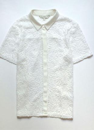 Next комбинированная кружевная блуза