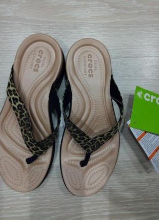 Croks женские crocs шлепанцы,літні шльопанці35р