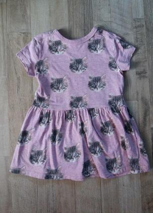 Платье на девочку next некст 1-1,5года.