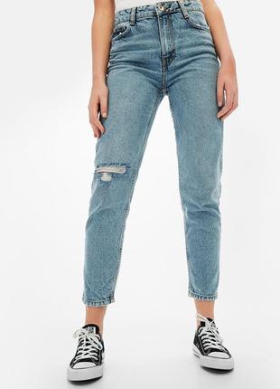 Mom джинсы от bershka