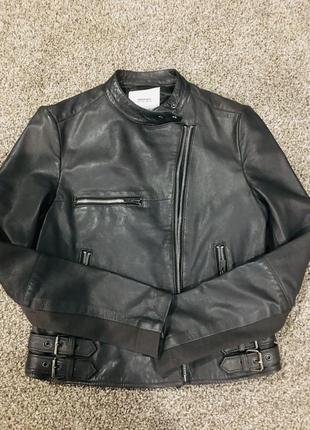 Курточка шкіряна від манго