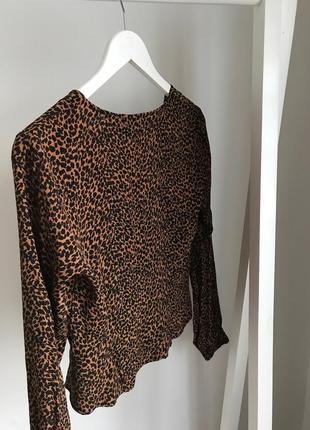 📎 блуза леопардовая bershka4 фото