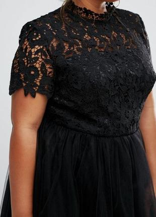 Роскошное вечернее платье chi chi london plus size4 фото