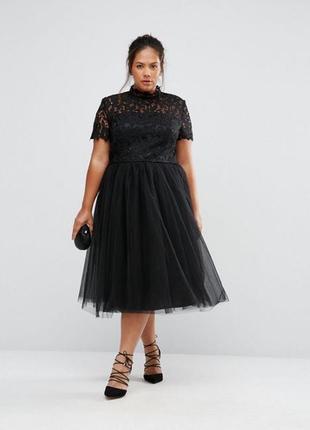 Роскошное вечернее платье chi chi london plus size2 фото