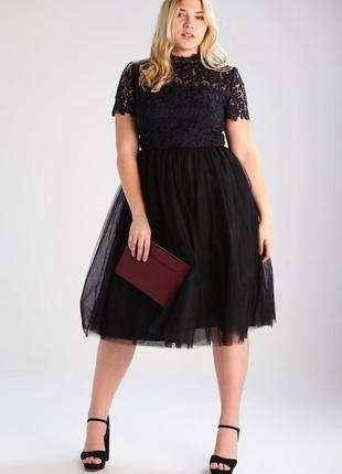 Роскошное вечернее платье chi chi london plus size8 фото