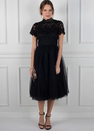 Роскошное вечернее платье chi chi london plus size5 фото