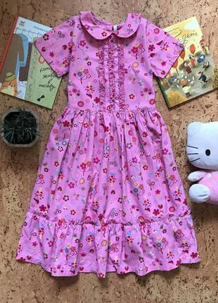 Платье ретро винтаж h&m примерно на 12-14 лет