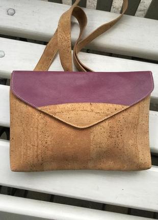 Натуральная,комбинированная,этно сумочка,кросбоди,клатч,ручной работы,эксклюзив,кожа