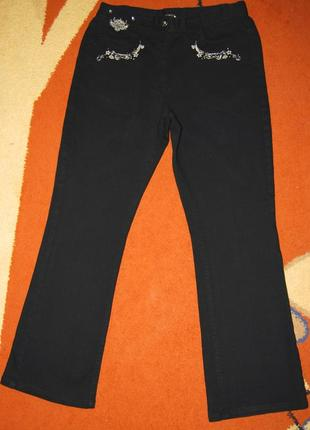 Потрясные фирменные джинсы casual, пот 40см.