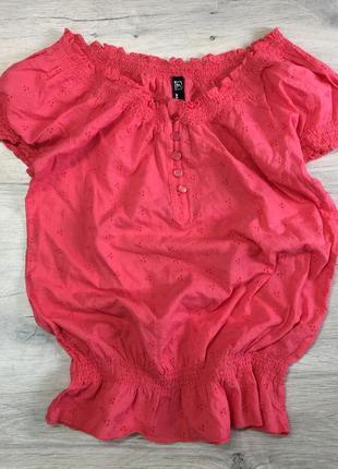 Хлопковая легкая блузочка