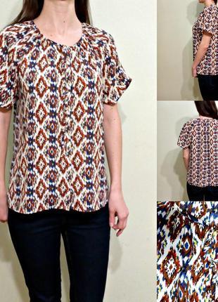 Легкая блуза свободого кроя