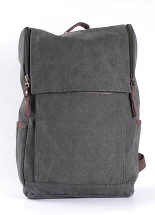 Большой качественный мужской рюкзак, плотная ткань