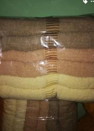 Полотенца новые, 6 штук, банные и для лица, венгрия