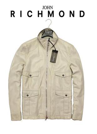 Кожаная куртка john richmond