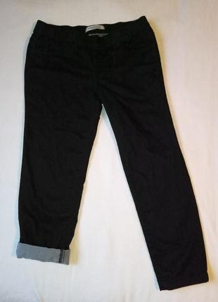 Леггинсы, скинни, джинсовые, темно-синий женские