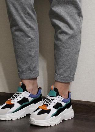 Яркие, мягкие и стильные женские кроссовки (крипперы)2
