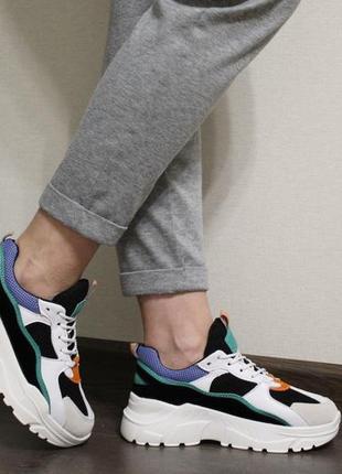 Яркие, мягкие и стильные женские кроссовки (крипперы)3