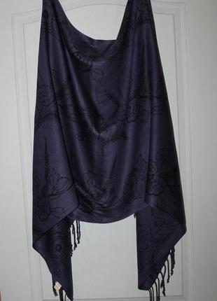 Красивый вискозный шарф