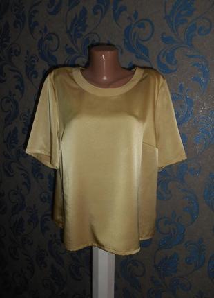 Sommermann. атласная блуза